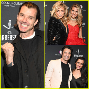 Gavin Rossdale, AnnaLynne McCord & More Celebrate The Barbershop's Grand Opening!