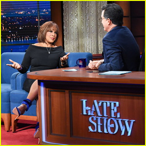 Gayle King Talks Keeping Calm with R. Kelly, Being Mistaken for Robin Roberts on 'Late Show' - Watch Here!