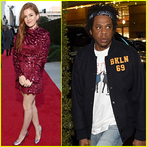 Isla Fisher, Jay-Z, & More Check Out New Broad Museum Exhibit