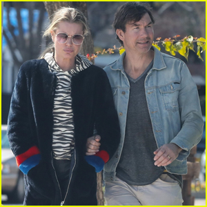 Jerry O'Connell & Rebecca Romijn Step Out on Lunch Date