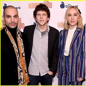 Jesse Eisenberg Joins 'Hummingbird Project' Cast at New York Screening