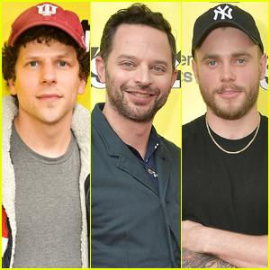 Jesse Eisenberg, Nick Kroll, & Gus Kenworthy Step Out for SXSW!