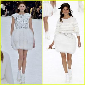 a9628db65c1 Kaia Gerber   Penelope Cruz Hit the Runway at Chanel Show in Paris