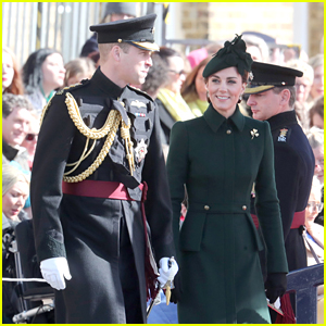 Prince William & Kate Middleton Attend Irish Guards St. Patrick's Day Parade!