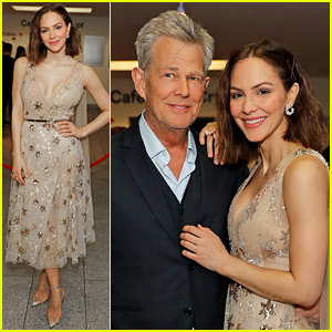 Katharine McPhee Opens 'Waitress' in London with Fiance David Foster's Support!