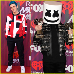 Best New Artist Nominees Lauv & Marshmello Step Out For iHeartRadio Music Awards 2019!