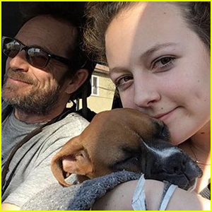 Luke Perry's Daughter Sophie Shares Sweet Photo Remembering Her Dad