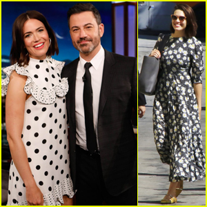 Mandy Moore Opens Up About Her 'Very Intimate' Wedding on 'Jimmy Kimmel' - Watch Here!