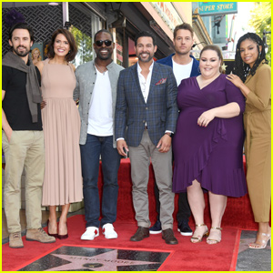 Mandy Moore Gets Support From 'This Is Us' Cast at Hollywood Walk of Fame Ceremony!