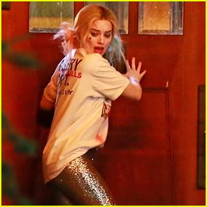 Margot Robbie Films Harley Quinn & Joker Breakup Scene for 'Birds of Prey' Movie