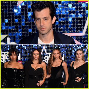 Mark Ronson Joins Little Mix at Global Awards 2019!