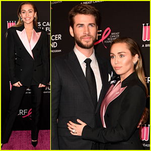 Miley Cyrus & Liam Hemsworth Couple Up for a Good Cause
