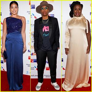 Gina Rodriguez, Lena Waithe, Uzo Aduba, & More Attend NAACP Image Awards Dinner
