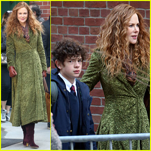 Nicole Kidman Works on HBO Series 'The Undoing' with Young Co-Star Noah Jupe