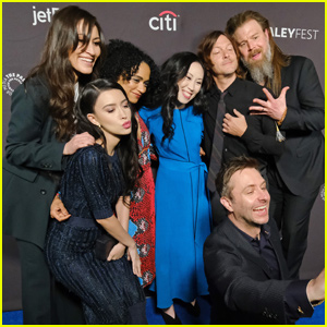 Norman Reedus Joins 'The Walking Dead' Cast at PaleyFest 2019