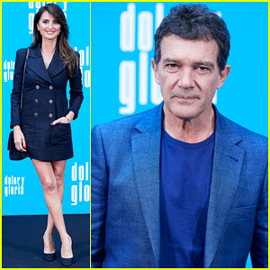 Penelope Cruz & Antonio Banderas Join 'Dolor y Gloria' Cast at Madrid Photo Call!