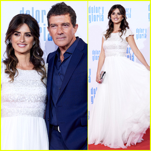 Penelope Cruz & Antonio Banderas Premiere 'Dolor y Gloria' in Madrid