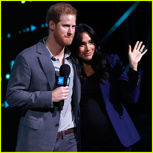 Prince Harry Surprises Crowd, 'Drags' Wife Meghan Markle On Stage!