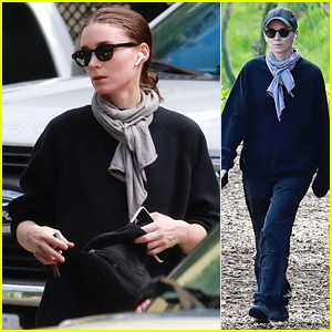 Rooney Mara Goes for a Solo Hike at TreePeople Park
