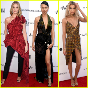 Rosie Huntington-Whiteley, Adriana Lima, & Stella Maxwell Go Glam for Daily Front Row Fashion Awards 2019