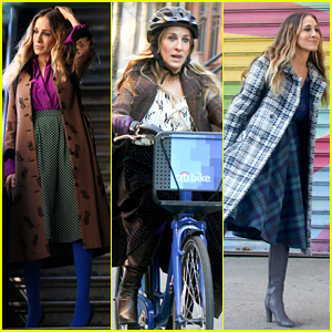 Sarah Jessica Parker Makes Five Outfit Changes on Last Day of 'Divorce' Filming!