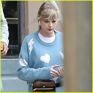 Taylor Swift Is Back in the Recording Studio!