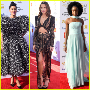 Tracee Ellis Ross, Kate Beckinsale, & KiKi Layne Hit the Red Carpet at NAACP Image Awards 2019