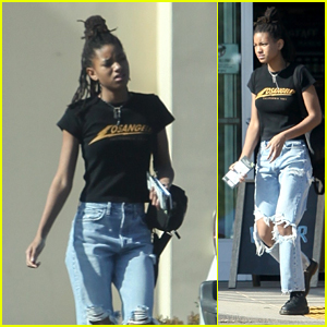 Willow Smith Picks Up a Sweet Treat at the Store in LA