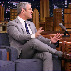 Andy Cohen Talks Being A New Dad on 'Fallon': 'I Was Freaked Out About The Stroller'