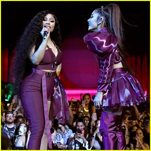 Ariana Grande Brings Out Nicki Minaj, Diddy & Mase at Coachella!