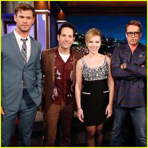 'Avengers' Cast Read 'Infinity War' Children's Book on 'Kimmel' - Watch Here!