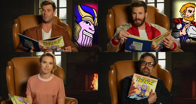 'Avengers' Cast Read 'Infinity War' Children's Book on