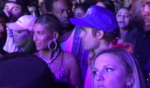 Justin Bieber Joins Wife Hailey for Sunday at Coachella!
