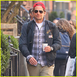 Bradley Cooper Goes on a Casual Coffee Run in New York City