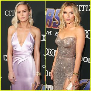 Brie Larson & Scarlett Johansson's 'Avengers' Premiere Jewelry Is Infinity Stone-Inspired!
