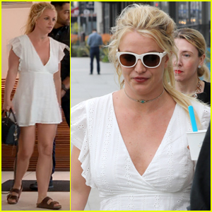 Britney Spears Says She Lost Five Pounds From Stress - New Photos