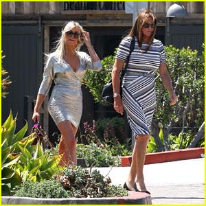 Caitlyn Jenner & Sophia Hutchins Enjoy Lunch Together in Malibu