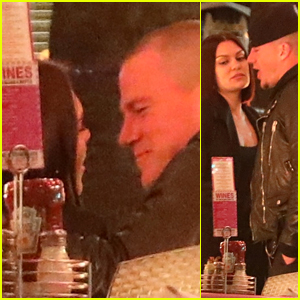 Channing Tatum & Jessie J Pack on the PDA on a Dinner Date