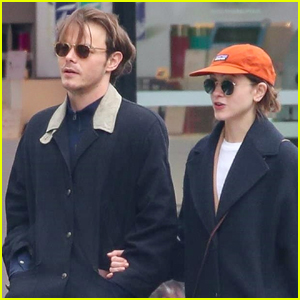 Charlie Heaton & Natalia Dyer Couple Up for Afternoon Stroll