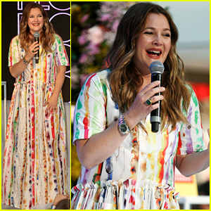 Drew Barrymore Planned Her Kid's Birthday Party En Route to Flower Beauty Event