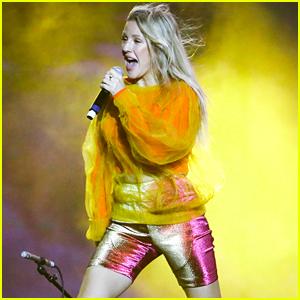 Ellie Goulding Gives Surprise Coachella Performance During Diplo's Set!