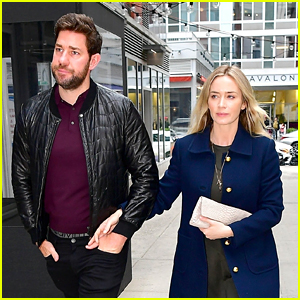 Emily Blunt & John Krasinski Couple Up for Date Night in NYC!