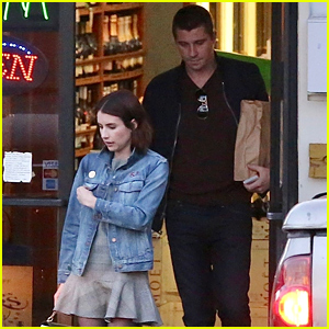 New Couple Emma Roberts & Garrett Hedlund Have a Night Out Together