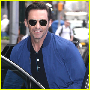 Hugh Jackman Gets Surprise Visit from Sara Bareilles on 'GMA' - Watch Here!