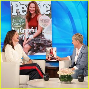Jennifer Garner Addresses Pregnancy Reports on 'Ellen': 'I'm 47. We've Wrapped It Up'