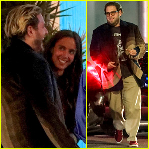 Jonah Hill & Girlfriend Gianna Santos Look So Happy at