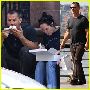 Josh Brolin Enjoys Cupcakes With Daughter Eden on a Fun Family Outing in NYC