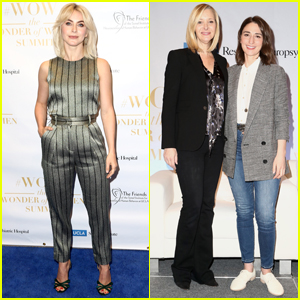 Julianne Hough Joins Sara Bareilles & Lisa Kudrow at Wonder of Women Summit