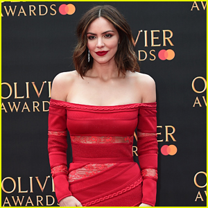 Katharine McPhee Had a Solo Dance Party After Arriving First to Olivier Awards After Party!
