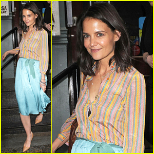 Katie Holmes Joins Jury at Tribeca Film Festival's Untold Stories Luncheon!